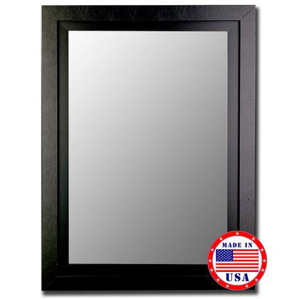 Hitchcock Butterfield 25800X Cameo Beveled Mirror In Black Finish With Inlay