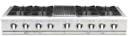 "Capital CGRT604B4L 60"" Culinarian Series Gas Open Burner Style Cooktop, in Stainless Steel"