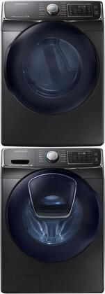 Samsung 691596 Black Stainless Steel Washer and Dryer Combos