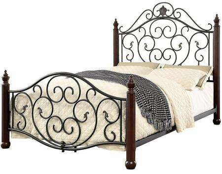 Furniture of America CM7688EK Lucia Series  King Size Bed