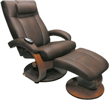 Mac Motion 5400612103 Contemporary Bonded Leather Wood Frame  Recliners