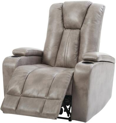 Glory Furniture G659RC G650 Series Faux Leather Metal Frame  Recliners