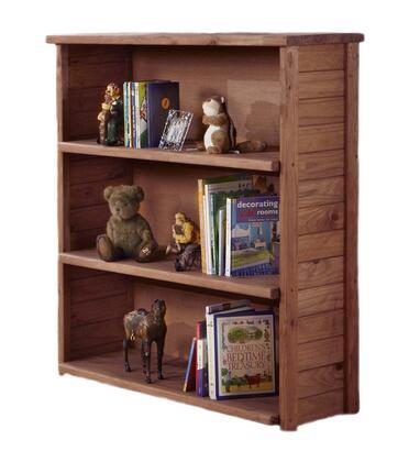 Chelsea Home Furniture 31309  Wood 3 Shelves Bookcase