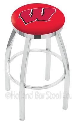 Holland Bar Stool L8C2C25WISCW Residential Vinyl Upholstered Bar Stool