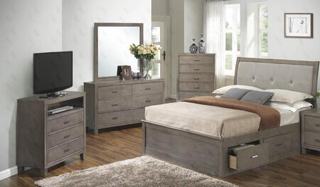 Glory Furniture G1205BFSBDMTV G1205 Bedroom Sets