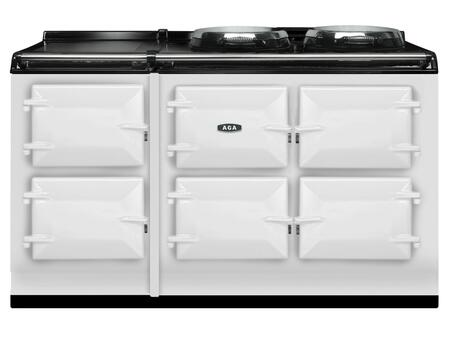 AGA ATC5WHT Total Control Series White Slide-in Electric Range with