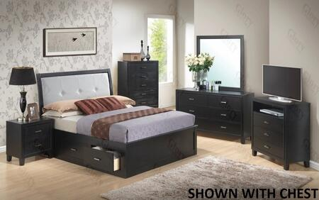 Glory Furniture G1250FFSB2DMNTV G1250 Full Bedroom Sets