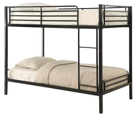 4D Concepts 159388 boltzero twin over twin bunk bed