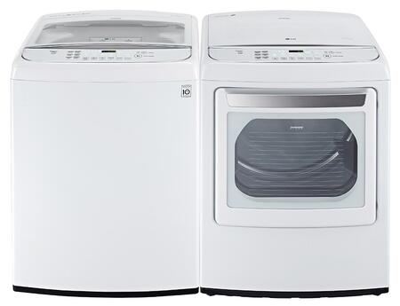LG LG2PCTL27WEKIT2 Washer and Dryer Combos