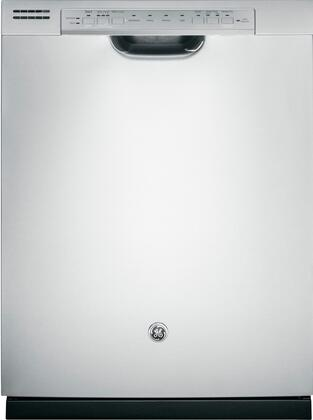 "GE GDF540HSFSS 24"" Built In Full Console Dishwasher"