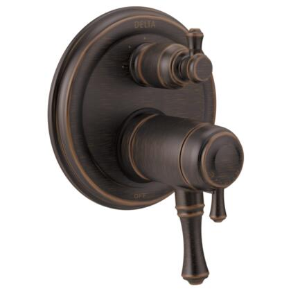 Cassidy T27T897-RB Delta Cassidy: Traditional TempAssure 17T Series Valve Trim with 3-Setting Integrated Diverter in Venetian Bronze