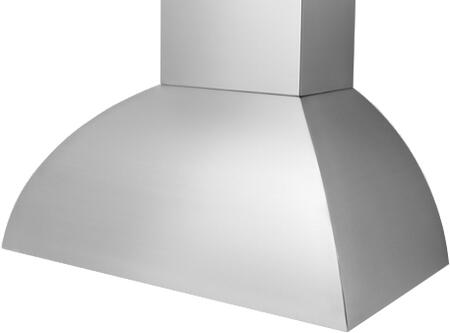 Prizer Hoods LARAI Laramie Island Mount Hood with Seamless Construction, 3-Speed Control, High Heat Sensor, Baffle Filter and Halogen Lighting, in Stainless Steel