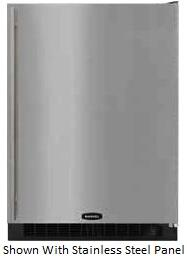 Marvel 6ARMWWFLR  Compact Refrigerator with 5.29 cu. ft. Capacity in White