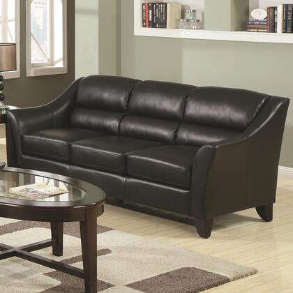 Coaster 504531 Brooklyn Series Stationary Bonded Leather Sofa