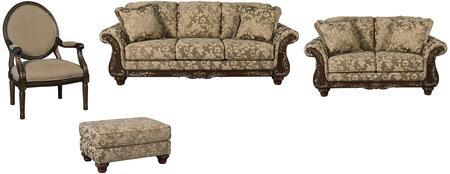 Milo Italia MI5301SLACOTOPA Ashlynn Living Room Sets