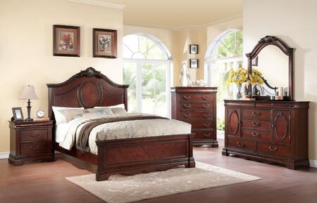 Acme Furniture 20727EK5PC Estrella King Bedroom Sets