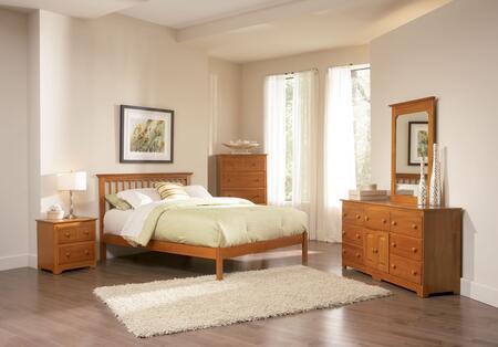 Atlantic Furniture MISOFAWTW  Twin Size Bed