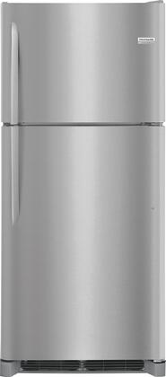 "Frigidaire FGHT2042Tx 30"" Top Freezer Refrigerator with 20 cu. ft. Capacity, Garage-Ready, Custom-Flex Door Bins, in"