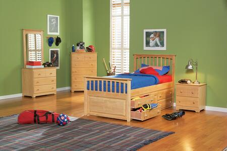 Atlantic Furniture MAT4NMTW  Twin Size Bed