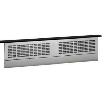 """GE UVB36 36"""" Downdraft Hood with 370 CFM, 4 Speed Fan, Telescopic Hood, Removable Grease Filter, in"""