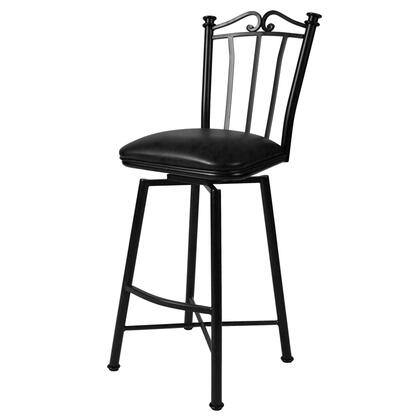 Pastel Furniture QLLG2193 Laguna 26 in. Counter Height Swivel Barstool