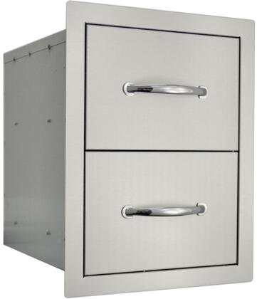 An Angled View of the Double Drawer
