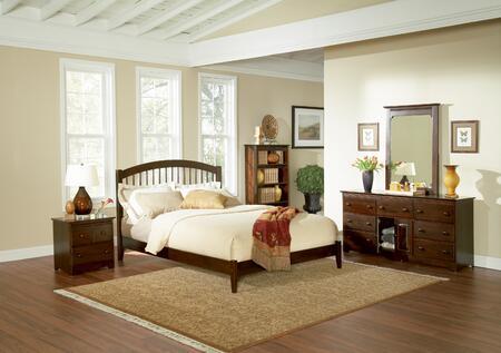 Atlantic Furniture WINOFWHTW  Twin Size Bed