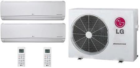 LG 706627 Dual-Zone Mini Split Air Conditioners