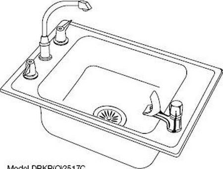 Elkay DRKAD2220404  Sink