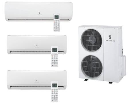 Multi-Zone Ductless Split System with Remote Controls