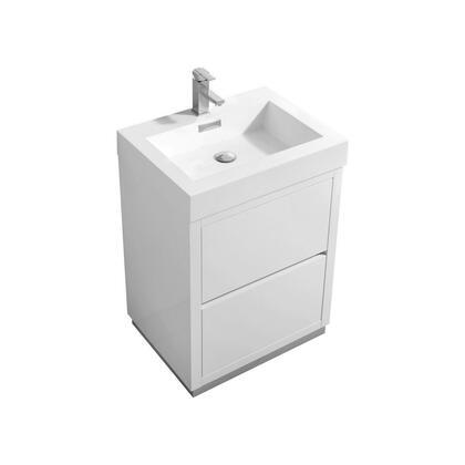 Kubebath Template: FMB24 Free Standing Modern Bathroom Vanity