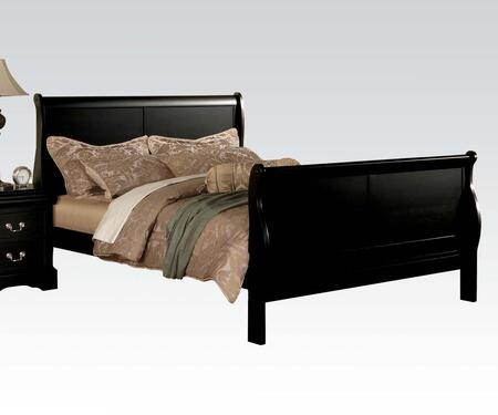 Acme Furniture 19497EK Louis Philippe III Series  King Size Sleigh Bed