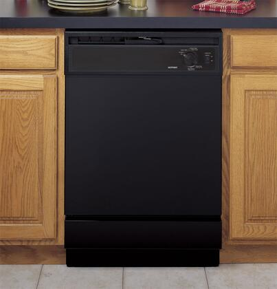 "Hotpoint HDA2100VBB 24"" 2100 Series Built In Full Console Dishwasher"