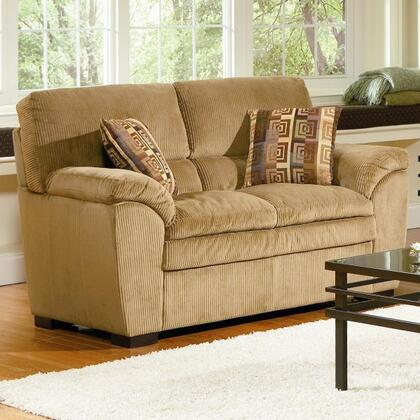 Coaster 502422 Fabric Stationary with Wood Frame Loveseat