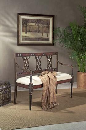 "Butler 0965083 Artists"" Originals Series Accent  Wood Fabric Bench"