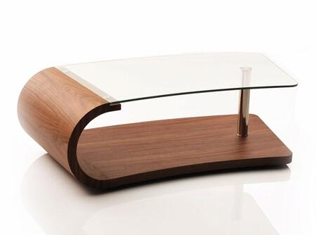 VIG Furniture VGHBCH01A Walnut Modern Table