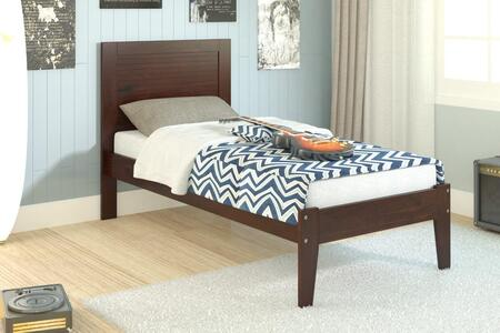 Donco 585TCP  Twin Size Panel Bed