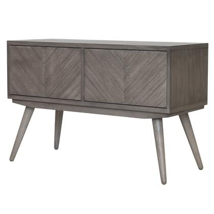 New Pacific Direct Template: Piero Collection 7800006-WG Chevron High Media Stand in Weathered Gray