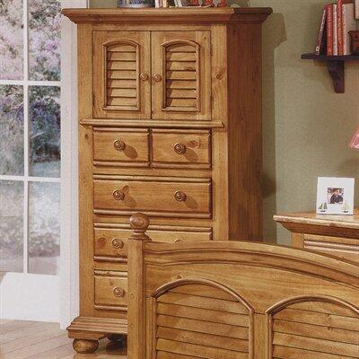 American Woodcrafters 65X0142 4 Drawer Lingerie Chest