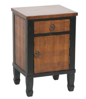 Gail's Accents 20026LT Freestanding Wood 1 Drawers Cabinet