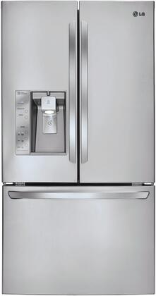LG LFX31915ST  French Door Refrigerator with 30.7 cu. ft. Total Capacity 4 Glass Shelves
