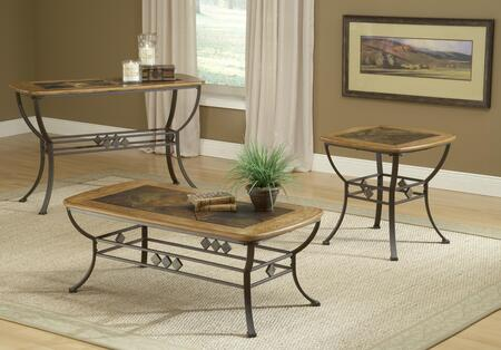 Hillsdale Furniture 4264OTC3PC Lakeview Living Room Table Se