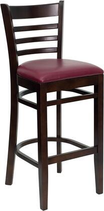 Flash Furniture XUDGW0005BARLADWALBURVGG Hercules Series Vinyl Upholstered Bar Stool