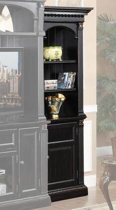 Legends Furniture ZGH3202 Hathaway Series Wood 3 Shelves Bookcase