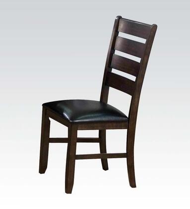 Acme Furniture 74624 Urbana Series PU Leather Wood Frame Dining Room Chair