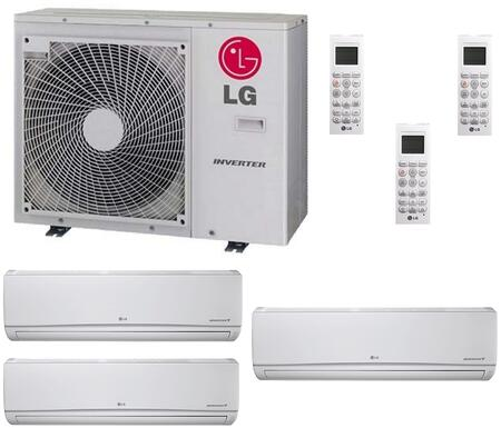 LG 706649 Triple-Zone Mini Split Air Conditioners