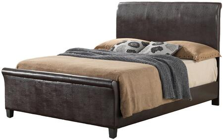 Glory Furniture G2750QBUP G2700 Series  Queen Size Sleigh Bed
