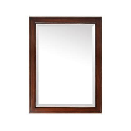 Avanity BRENTWOOD-M-NW Brentwood Mirror, with Wood Construction, and Beveled Frame, in New Walnut Finish