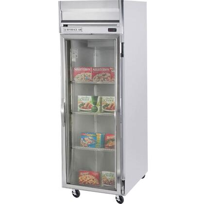 Beverage-Air HR1-1 26 Inches Horizon Series One Section [Solid Door] Reach-In Refrigerator, 24 cu.ft. capacity, Stainless Steel Exterior and Interior Finish