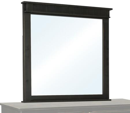 Chelsea Home Furniture 465125B Verdad Shaker Series Rectangle Both Dresser Mirror